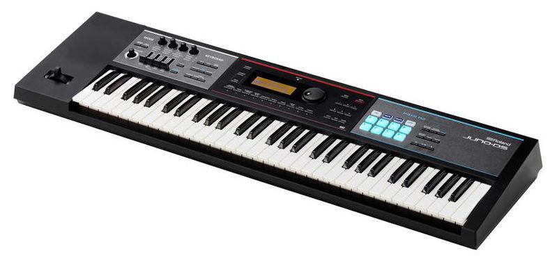 Синтезатор Roland Juno-DS 61 рама и стойка для электронной установки roland mds 4v drum rack