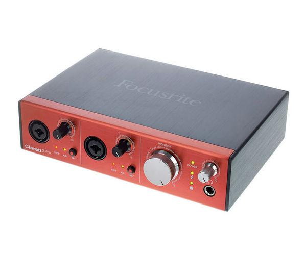 Звуковая карта внешняя Focusrite CLARETT 2PRE звуковая карта внешняя focusrite itrack dock