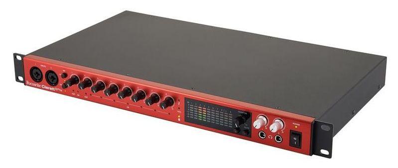 Звуковая карта внешняя Focusrite CLARETT 8PRE звуковая карта внешняя focusrite itrack dock