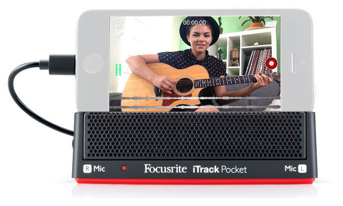 купить iPad/iPhone микрофон Focusrite iTrack Pocket недорого