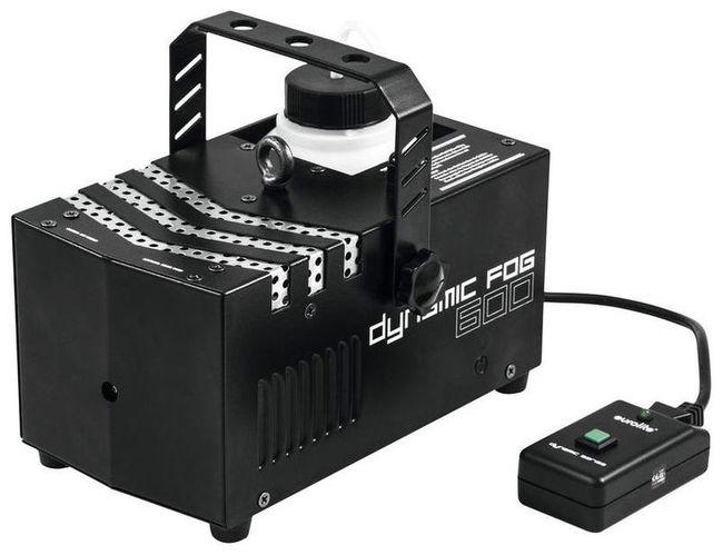 Генератор дыма EUROLITE Dynamic Fog 600 генератор дыма eurolite dynamic fog 600