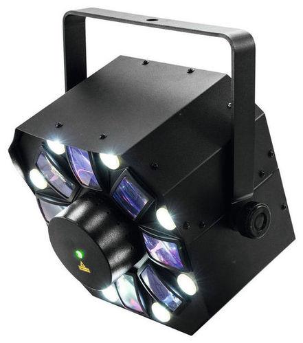 Лазер EUROLITE LED FE-1500 Hybrid Laserflower генератор дыма eurolite dynamic fog 600