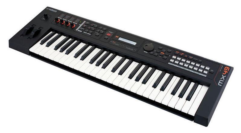 Синтезатор Yamaha MX49BK V2 синтезатор yamaha dgx 520 кредит