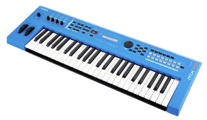 Синтезатор Yamaha MX49BU V2 синтезатор yamaha dgx 520 кредит
