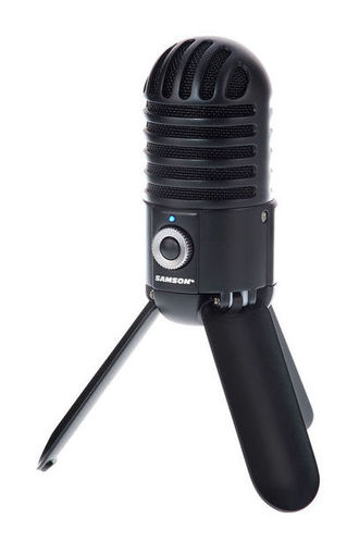 USB микрофон Samson Meteor Black микрофон samson c01u pro usb