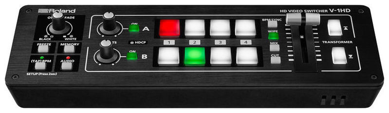 Видеомикшер Roland V-1HD оборудование для аудио видео коммутации gefen ext dvi 16416