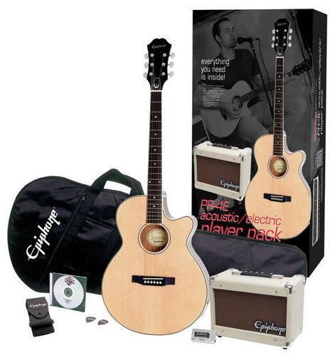 Epiphone PR-4E Acoustic Player Pack epiphone pro 1 plus acoustic natural