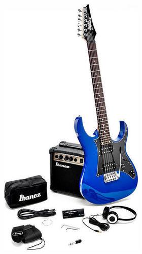 Комплект с электрогитарой Ibanez Jumpstart IJRG200-BL акустические гитары ibanez москва