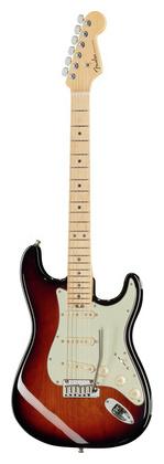 Стратокастер Fender AM Elite Strat MN 3TSB стратокастер fender standard strat mn lpb