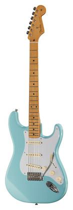 Стратокастер Fender Classic Series 50 Strat MN DB стратокастер fender standard strat mn lpb