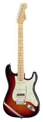 Стратокастер Fender AM Elite Strat HSS MN 3TSB стратокастер fender standard strat mn lpb