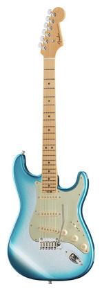 Стратокастер Fender AM Elite Strat MN SBM стратокастер fender standard strat mn lpb