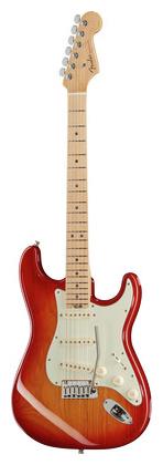 Стратокастер Fender AM Elite Strat MN ACB стратокастер fender standard strat mn lpb