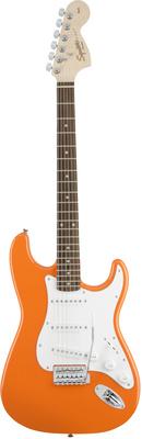 Стратокастер Fender Squier Affinity Strat Orange стратокастер fender standard strat mn lpb