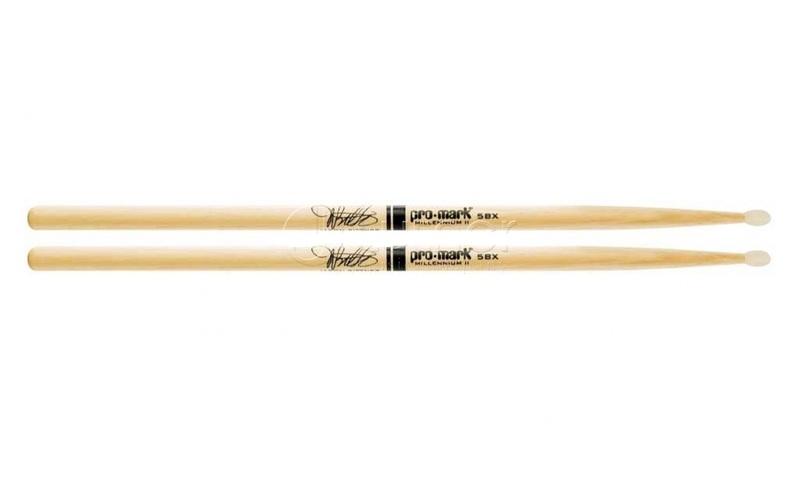 5B палочки для ударных ProMark TX5BXN 5BX Jason Bittner универсальные палочки для ударных promark sd1w sd1