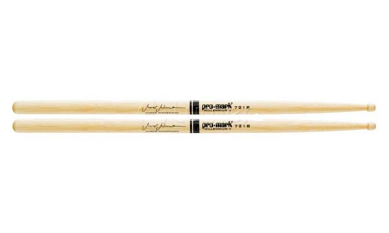 Палочки для ударных с автографами ProMark TX721BW 721B Marco Minnemann универсальные палочки для ударных promark sd1w sd1