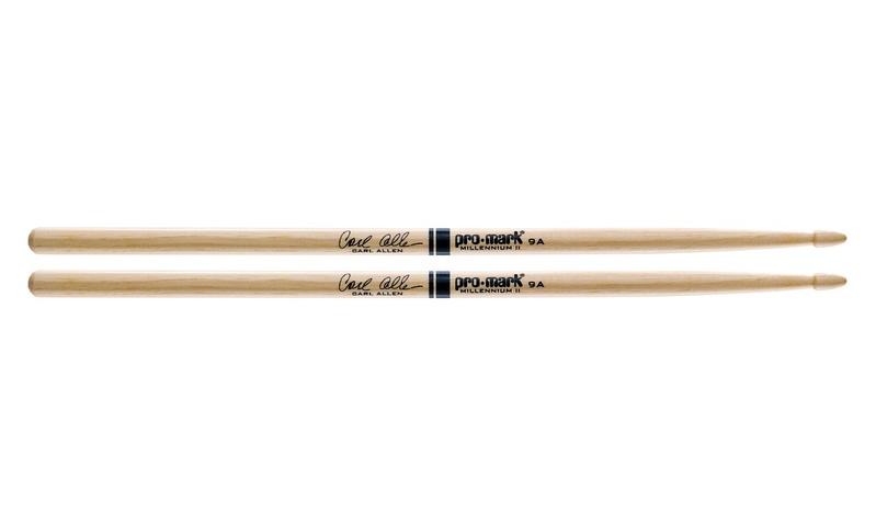 Палочки для ударных с автографами ProMark TX9AW 9A Carl Allen универсальные палочки для ударных promark sd1w sd1