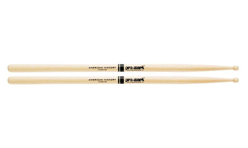5A палочки для ударных ProMark TXSD1W SD1 универсальные палочки для ударных promark sd1w sd1