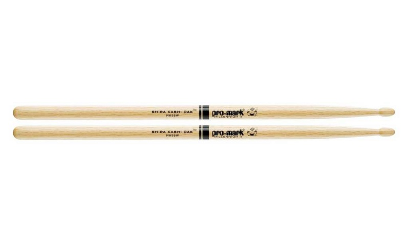 Универсальные палочки для ударных ProMark PW5BW Shira Kashi bw 5 кривой рог