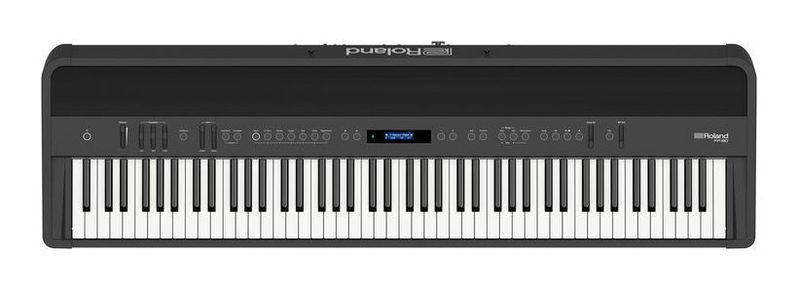 Сценическое фортепиано Roland FP-90 BK педаль эффектов roland gk 3