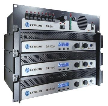 Усилитель мощности 850 - 2000 Вт (4 Ом) Crown DSi 1000 усилитель мощности 850 2000 вт 4 ом the t amp proline 3000