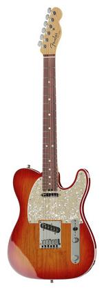 Телекастер Fender AM Elite Telecaster RW ACB телекастер fender 72 telecaster custom mn bk