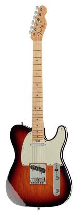 Телекастер Fender AM Elite Telecaster MN 3TSB телекастер fender 72 telecaster custom mn bk