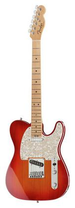 Телекастер Fender AM Elite Telecaster MN ACB телекастер fender 72 telecaster custom mn bk
