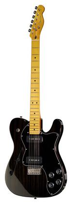 Телекастер Fender Modern Player Tele Thinline BK телекастер fender 72 telecaster custom mn bk