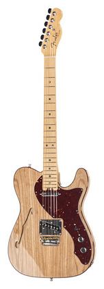 Телекастер Fender AM Elite Tele Thinline MN NAT телекастер fender 72 telecaster custom mn bk