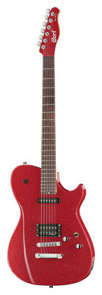Телекастер Cort MBC-1 Red Sparkle электрогитара cort x6 vpr