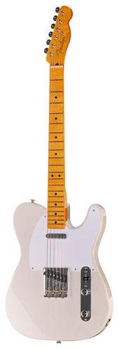 Телекастер Fender 50s Tele Lacquer MN WB телекастер fender 72 telecaster custom mn bk
