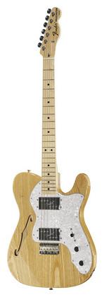 Телекастер Fender 72 Telecaster Thinline MN NT телекастер fender 72 telecaster custom mn bk