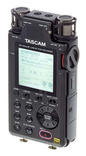 Рекордер Tascam DR-100MKIII tascam tc 8