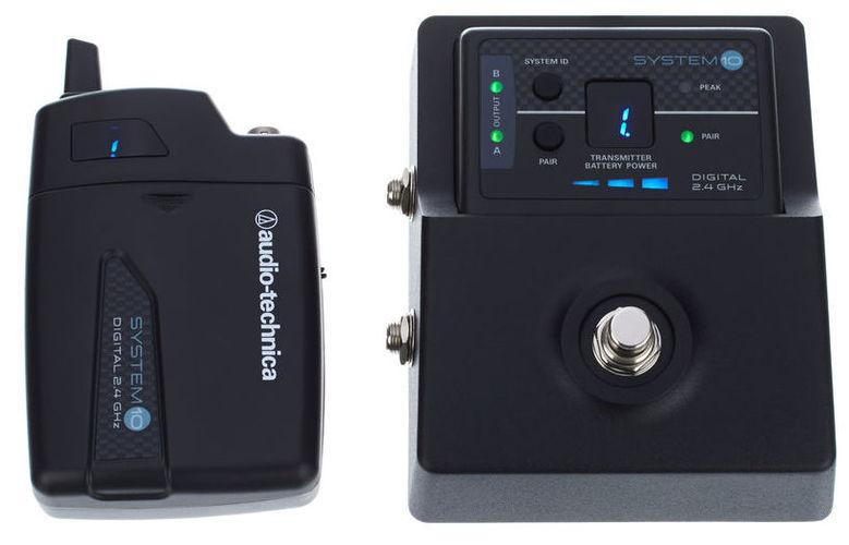 Радиосистема инструментальная Audio-Technica System 10 ATW-1501 technica audio technica головка ath msr7se установлена портативная гарнитура с высоким разрешением качества hifi