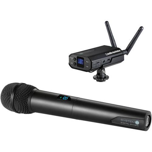 Радиосистема накамерная Audio-Technica ATW1702 technica audio technica головка ath msr7se установлена портативная гарнитура с высоким разрешением качества hifi