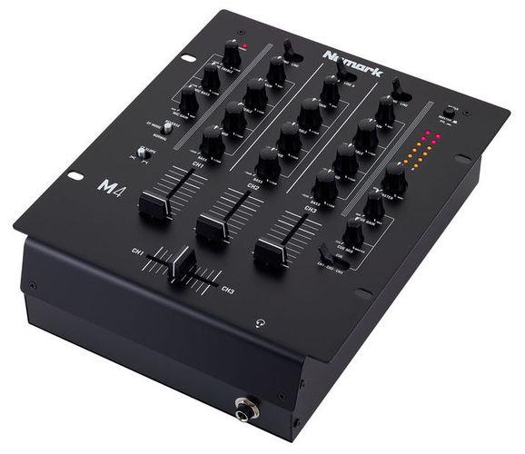 3-канальный микшер Numark M 4 Black numark ndx200