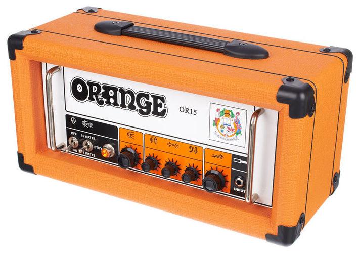 Усилитель головы Orange OR 15 H гитарный усилитель bugera 6262 infinium