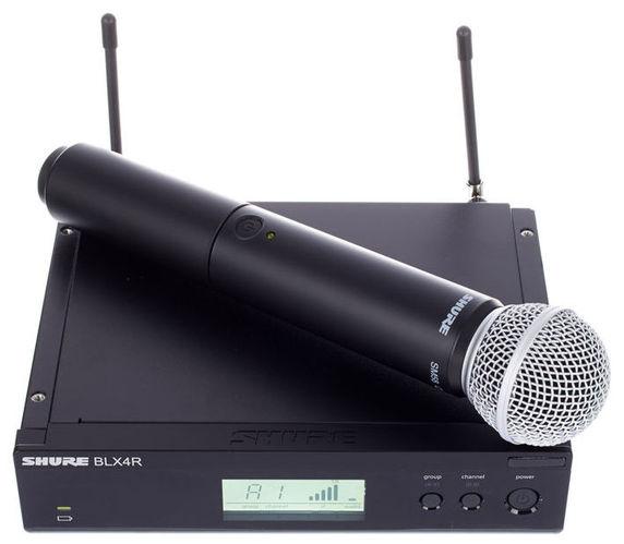Готовый комплект радиосистемы Shure BLX24RE/SM58 K3E готовый комплект радиосистемы shure blx24e sm58 m17