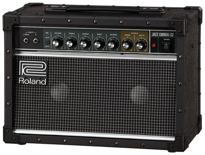 Комбо для гитары Roland JC-22 гитарный комбоусилитель roland cube st red