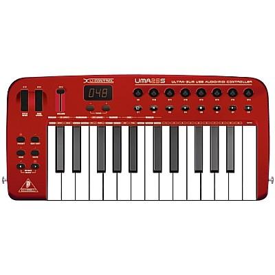 MIDI-клавиатура 25 клавиш Behringer UMA 25S U-CONTROL цена