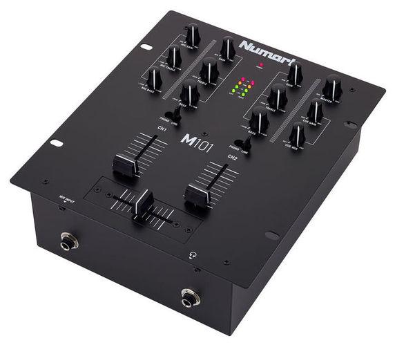 2-канальный микшер Numark M101 Black проигрыватель винила с ременным приводом numark pt touring