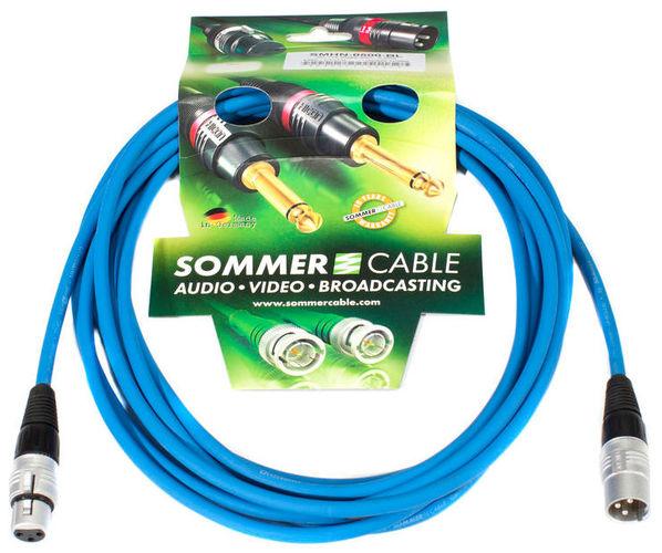 Кабель микрофонный Sommer Cable Stage Blue Line Vocal 7,5m брус длина 7 метров