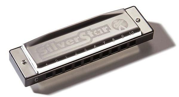 Губная гармошка HOHNER M50403 Silver Star D-major гармошка hohner marine band сlassic
