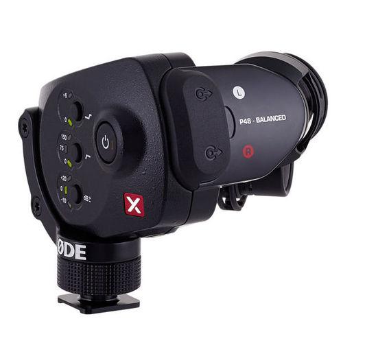 Микрофон для видеокамеры RODE Stereo VideoMic X