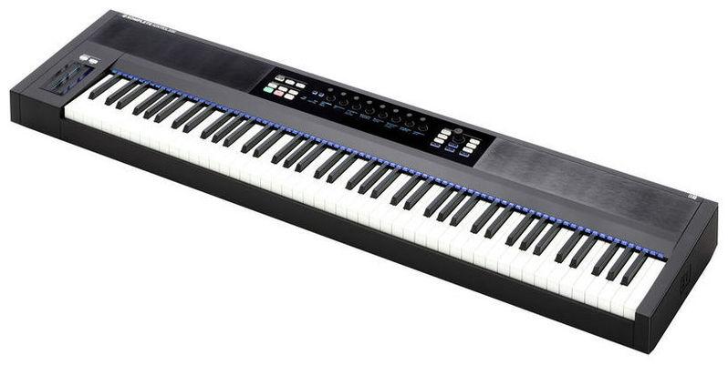 MIDI-клавиатура 88 клавиш Native Instruments Komplete Kontrol S88 midi клавиатура 49 клавиш native instruments komplete kontrol s49 mk2