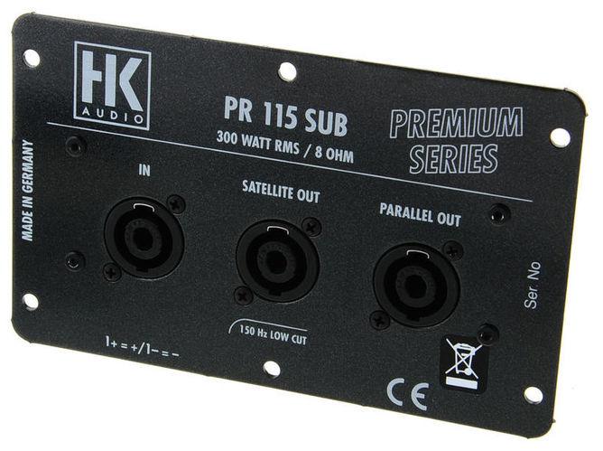 iremax hk Кроссовер для звука HK AUDIO PR115 Sub Crossover