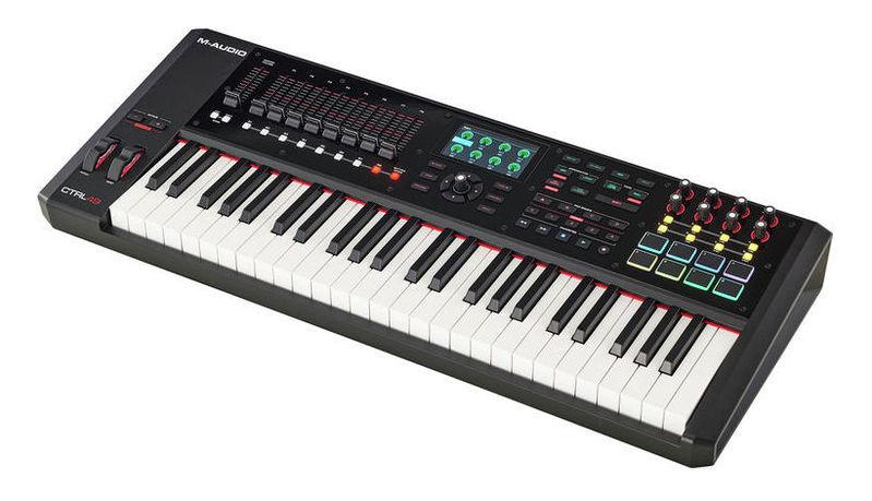 MIDI-клавиатура 49 клавиш M-Audio CTRL49 m audio keyrig 49 в москве
