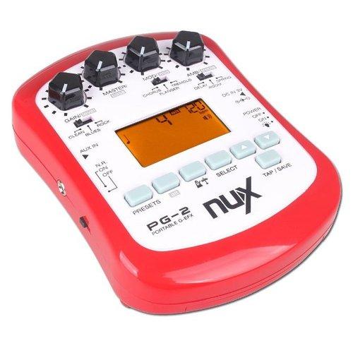 Гитарный процессор для электрогитары Nux PG-2 гитарный процессор для электрогитары nux pg 2