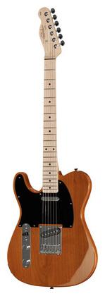 Гитара для левшей Fender Squier Affinity Tele MN BB LH телекастер fender 72 telecaster custom mn bk